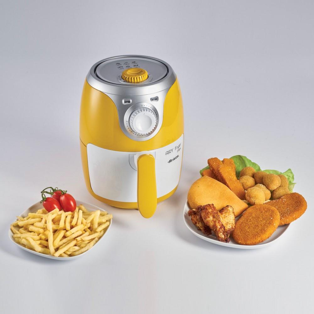 Фритюрница ARIETE 4615 Fryer Mini, желтый