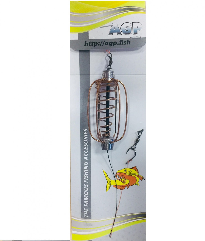 Оснастка рыболовная AGP Убойный карпятник