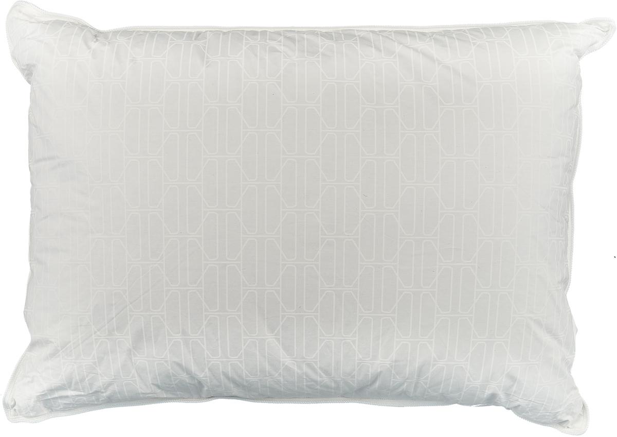 Фото - Подушка Togas Орион, наполнитель: пух, цвет: белый, 50 х 70 см подушка alvitek подушка дольче пух перо 50 68 см