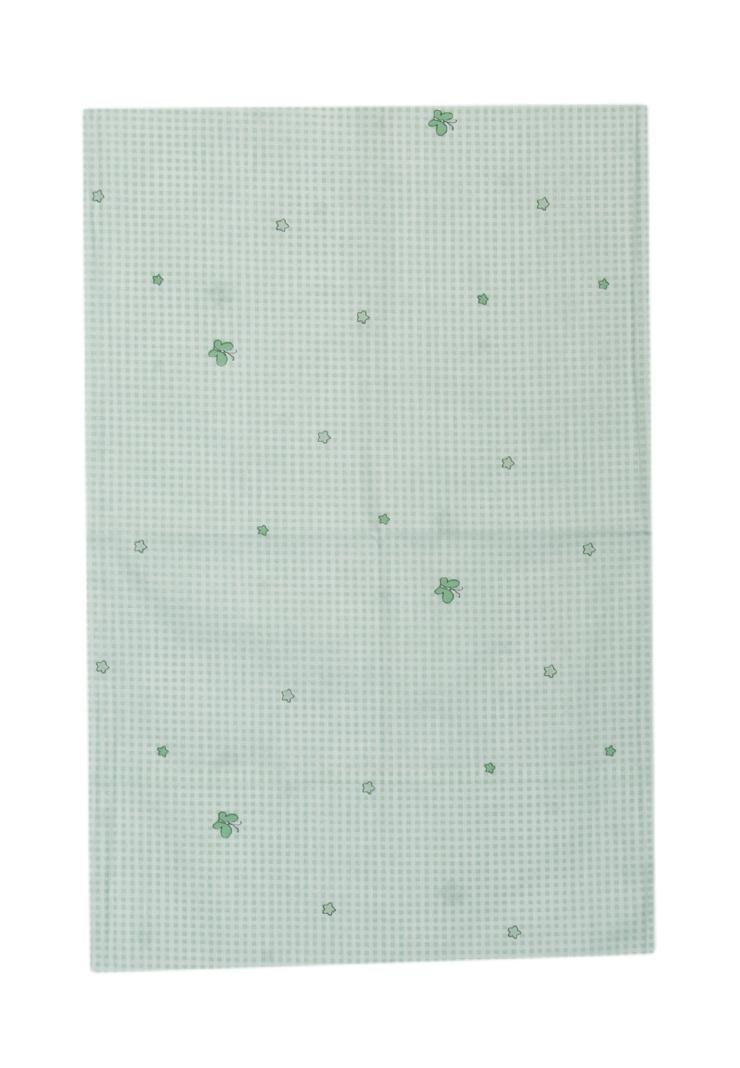 Наволочка Сонный гномик Оленята, зеленый стоимость