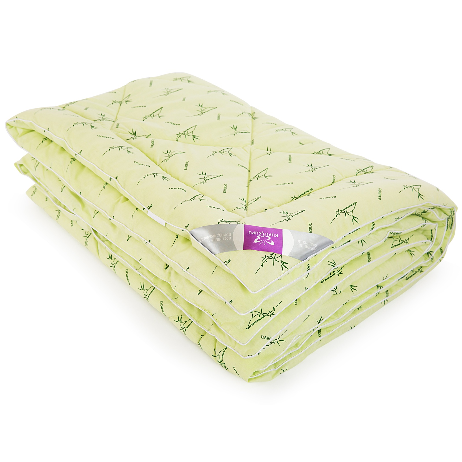 Одеяло KUPU-KUPU Бамбук салатовый 200х205 см