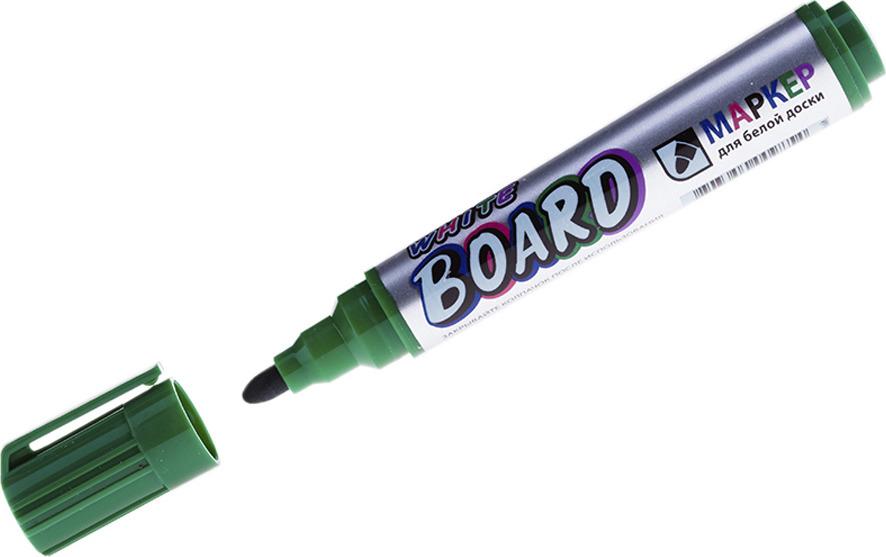 Набор маркеров для белых досок Crown Multi Board Comfort, 210142, зеленый, 12 шт цена