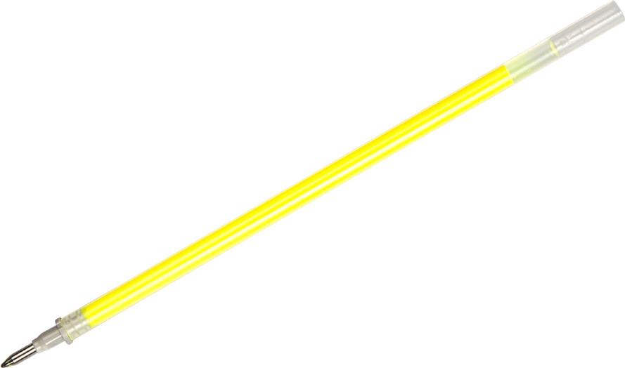 Набор сменных стержней Crown Hi-Jell Color для гелевых ручек, 2160, цвет чернил желтый, 12 шт набор гелевых ручек scentos ароматизированный 8 шт