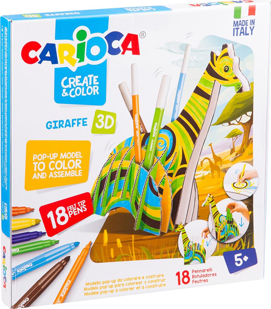Набор для рисования Carioca Giraffe, 262573