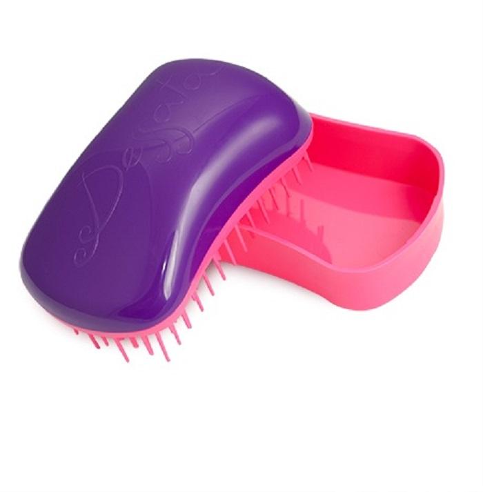 Расческа для волос Dessata Mini Purple-Fuchsia; Фиолетовый-Фуксия