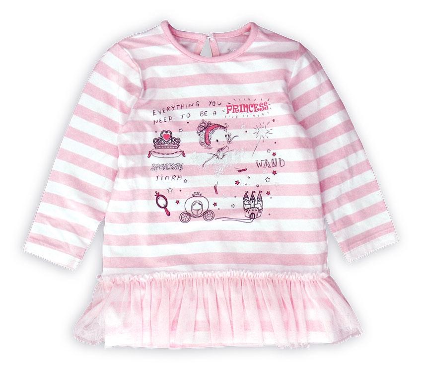 Лонгслив Me&We платье для девочки cherubino цвет светло розовый csb 62088 194 размер 68