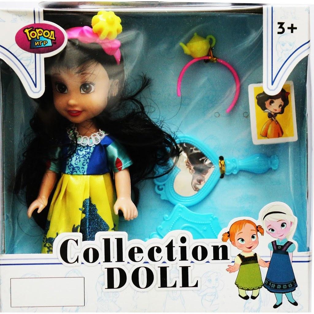 Игровой набор с куклой Город игр Белла