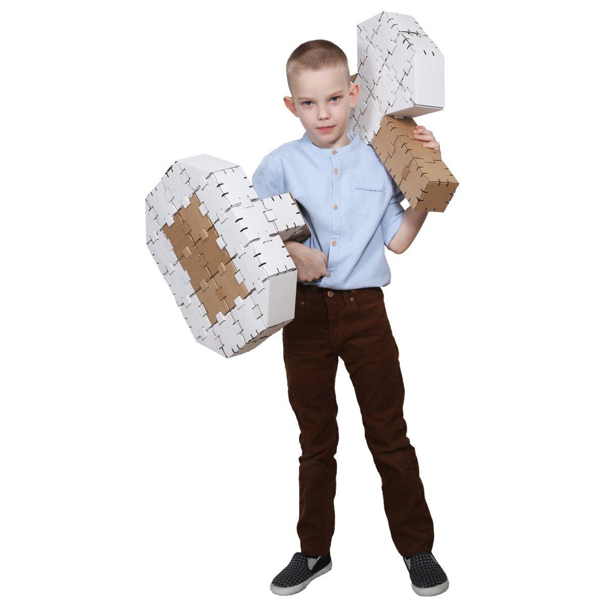 Конструктор картонный Yohocraft Набор Защитника yohocube картонный конструктор ангелочки yohocube