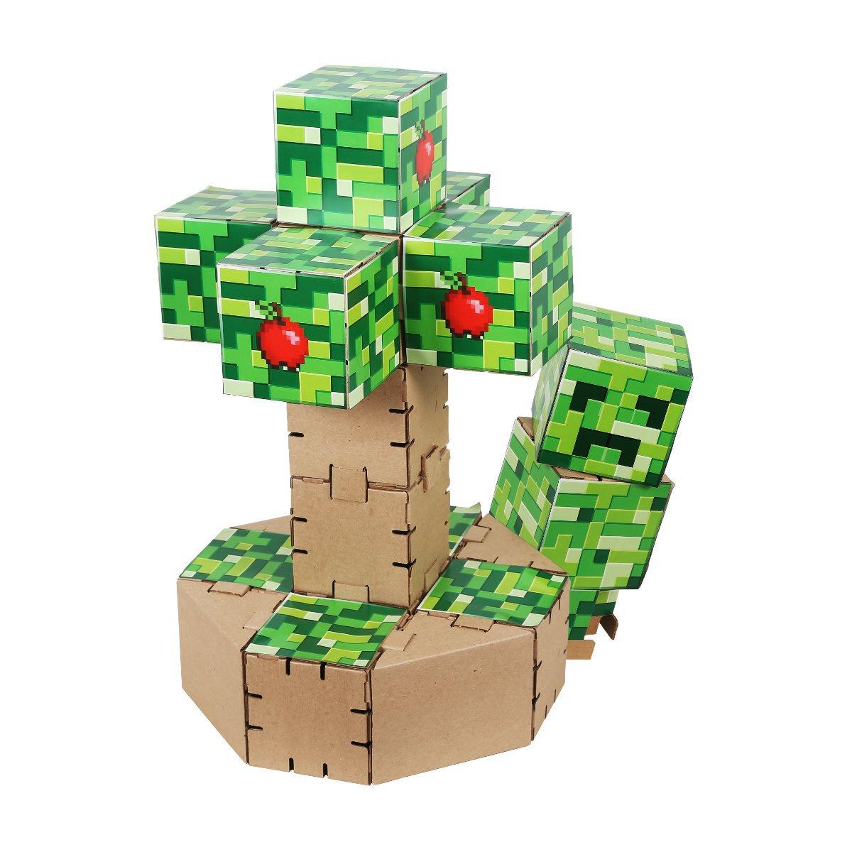 Конструктор картонный Yohocraft Дерево Крипа yohocube картонный конструктор ангелочки yohocube