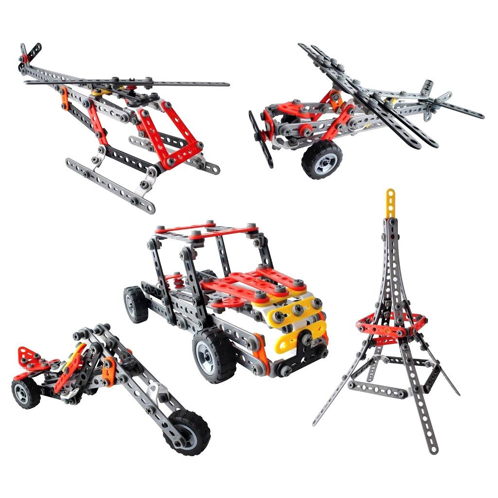 Пластиковый конструктор Education Line SUT-1000 роботы education line roboblock робот герой xl 89 элементов