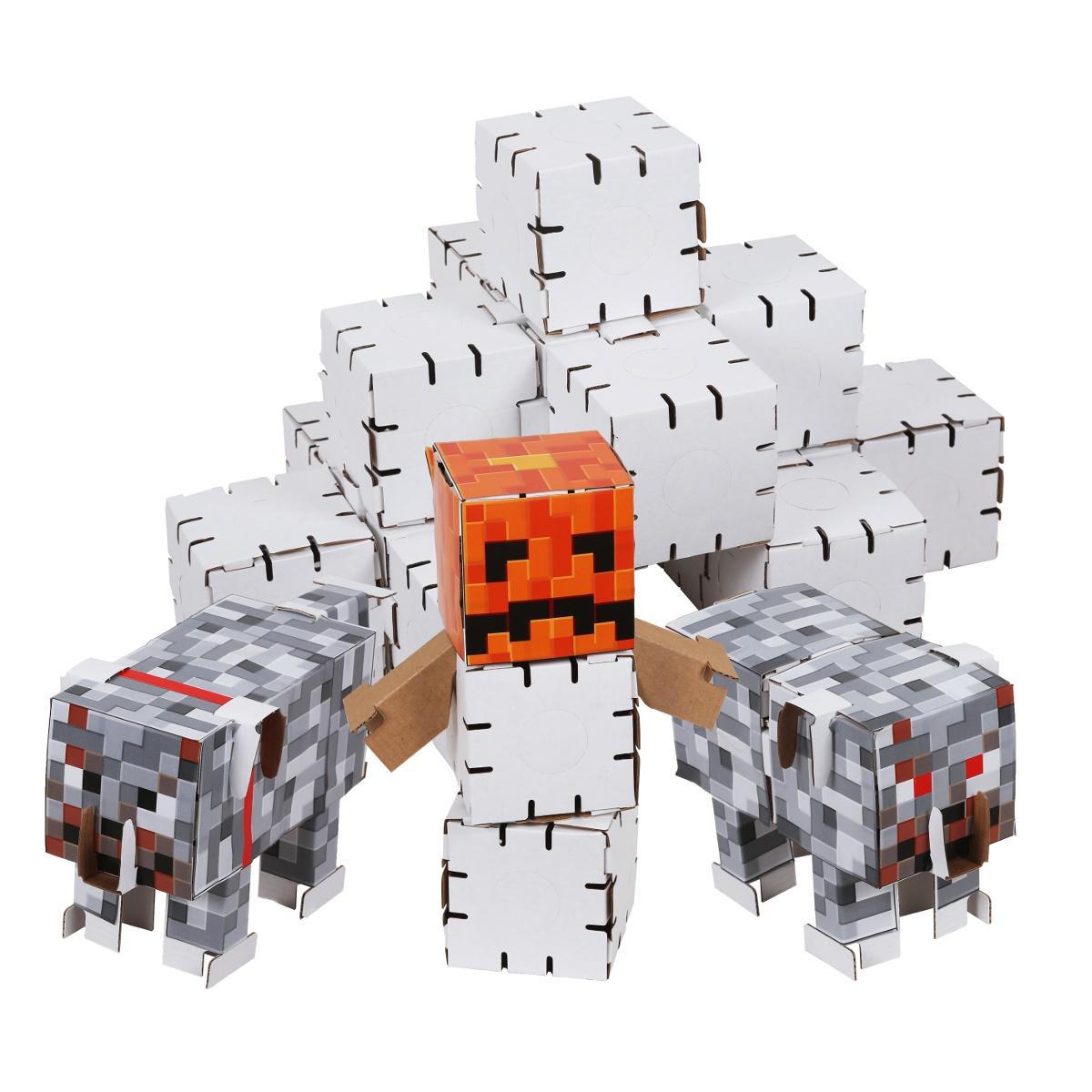 Пластиковый конструктор Yohocube Конструктор Yohocraft Страж Севера yohocube картонный конструктор ангелочки yohocube