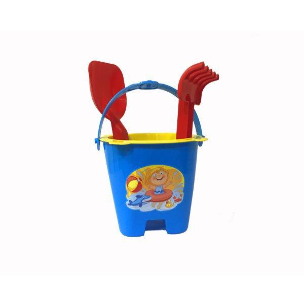 Набор песочный Цветок 4 эл. автотрек эл зоопарк машинка 1шт игровое поле фигурка эл пит не вх в комплект