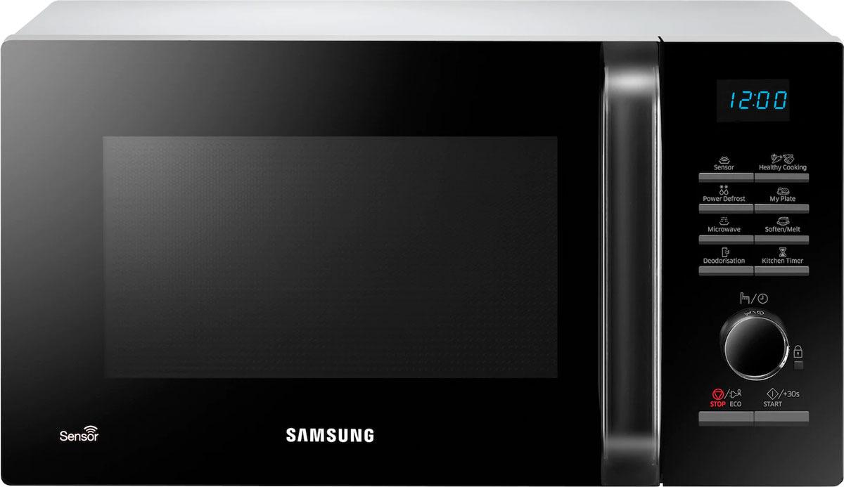 Микроволновая печь Samsung, MS23H3115FW/BW, белый samsung ge83krqw 2 bw