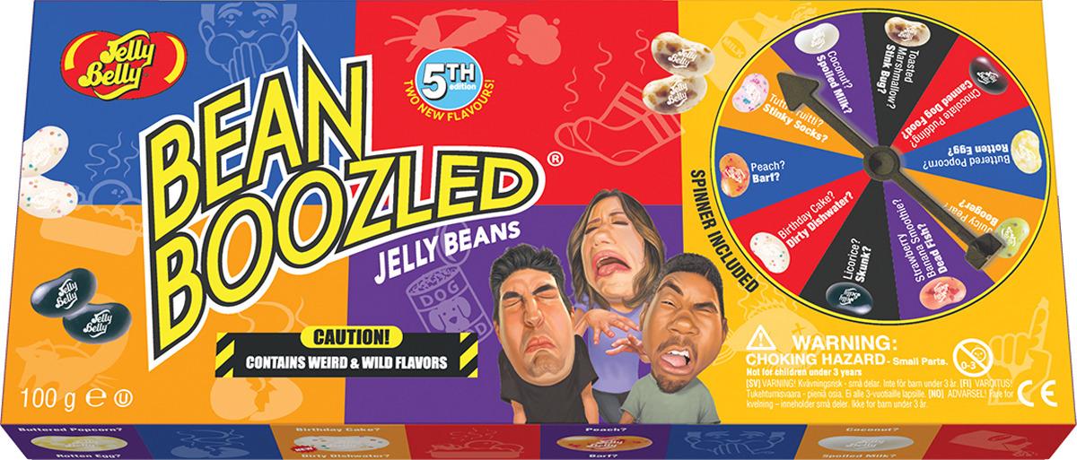 Jelly Belly Bean Boozled Game Драже жевательное + игра, 100 г