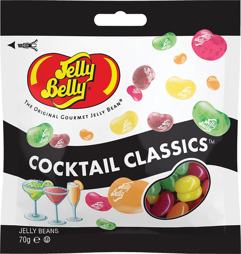 Драже жевательное Jelly Belly, классические коктейли, 70 г цены