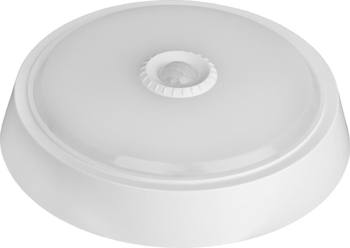 Светодиодный светильник ЭРА SPB-3-10-4K-MWS, 10Вт, 4000К, 800лм, круг, 210х46 светильник светодиодный llt спб 2 10вт 160 260в 4000к 800лм ip40 210мм белый