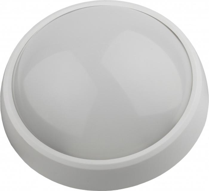 цена на Потолочный светильник ЭРА SPB-1-12 (W), IP54 12Вт, светодиодный, 4000К, 960 лм, круг, белый, 180х80 мм
