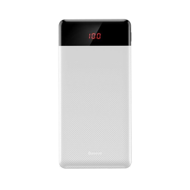 Внешний аккумулятор Baseus PPALL-AKU02, белый внешний аккумулятор baseus ppall ex01