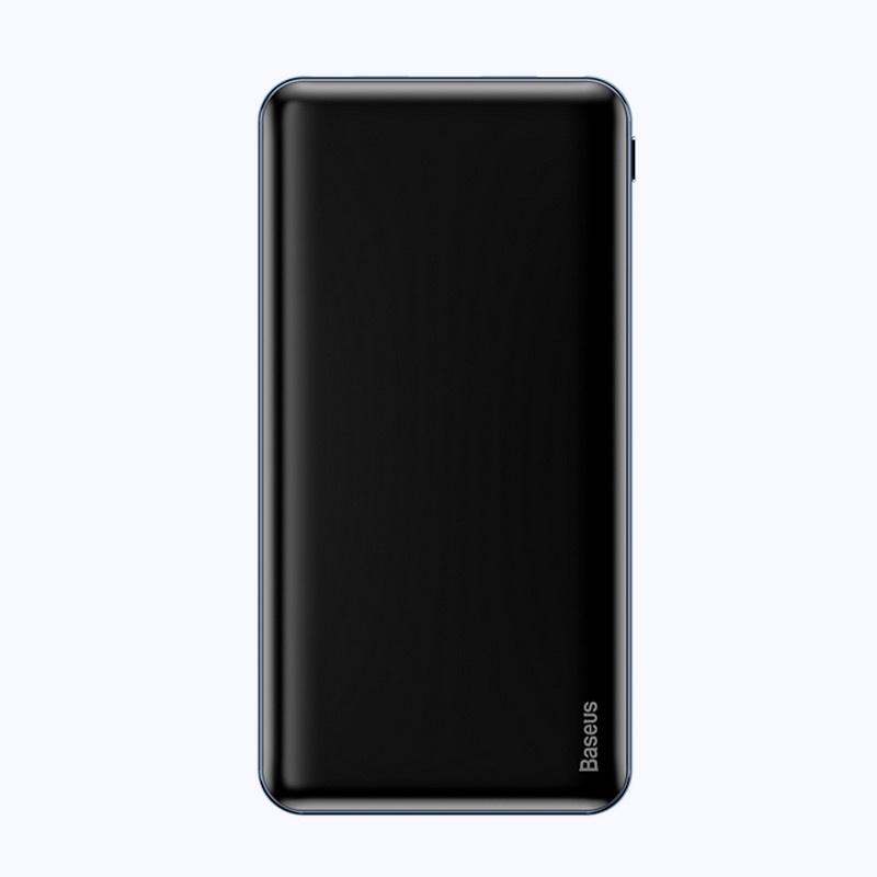 Внешний аккумулятор Baseus PPALL-QB01, черный внешний аккумулятор baseus ppall ex01