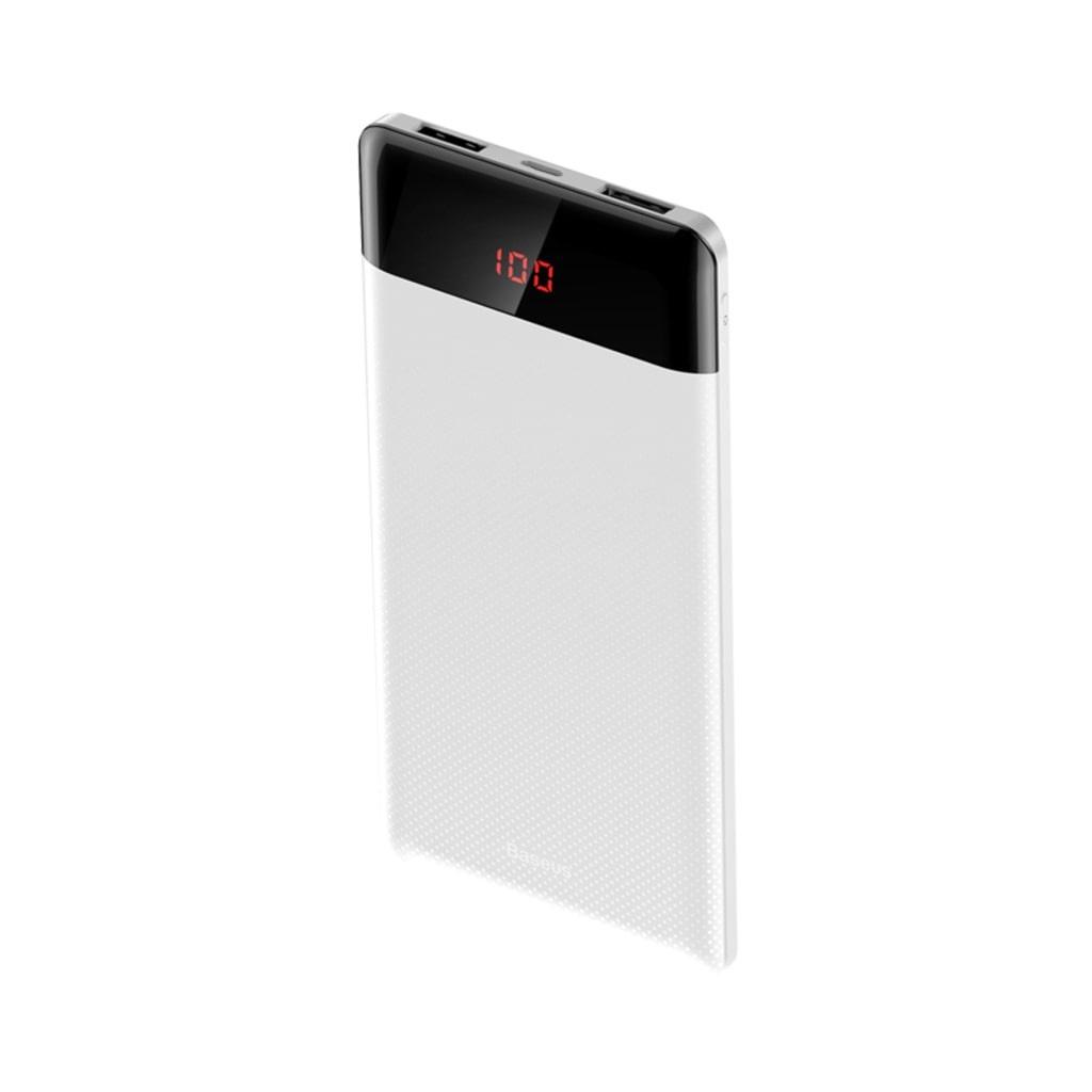 Внешний аккумулятор Baseus PPALL-CKU02, белый внешний аккумулятор baseus ppall ex01