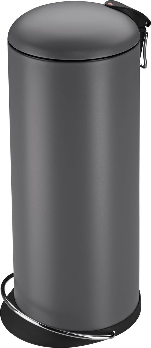 Мусорное ведро Hailo TOPdesign, 0523-090, серый, 24 л цена 2017