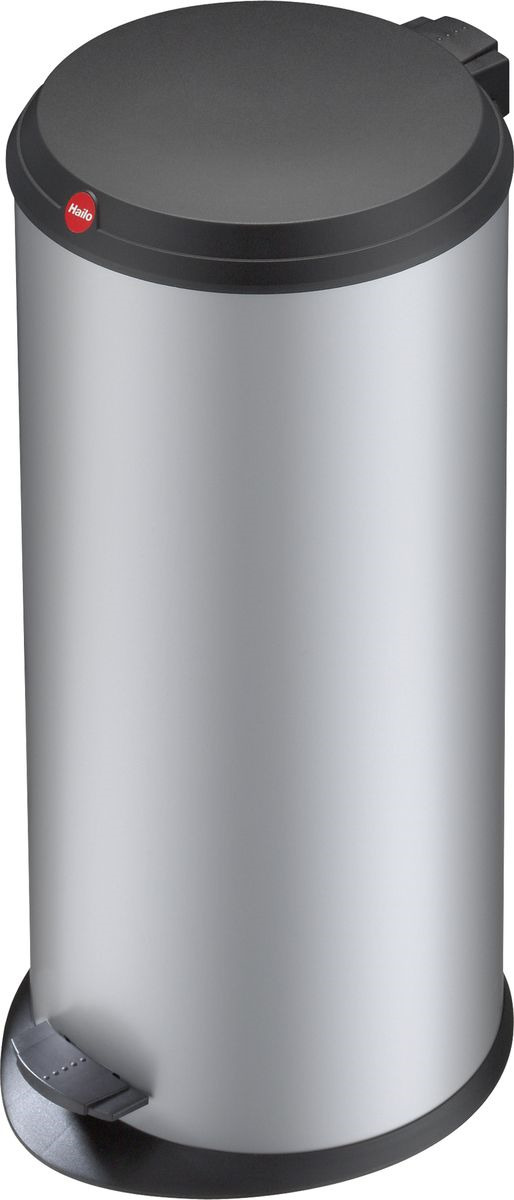 <b>Мусорное ведро Hailo T1</b>, 0520-029, серебро, 19 л — купить в ...