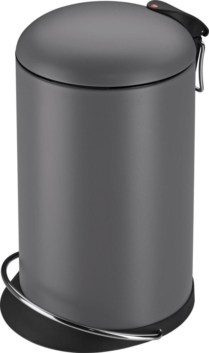 Мусорное ведро Hailo TOPdesign, 0516-790, серый, 13 л цена 2017