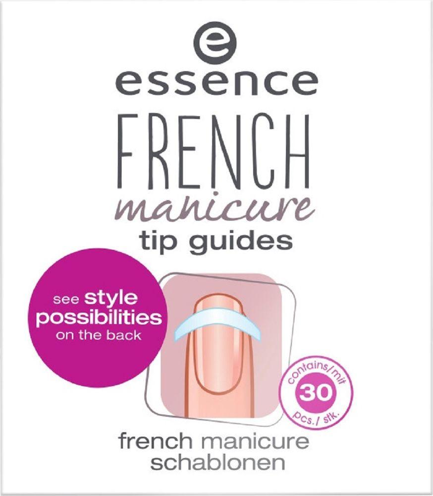 Трафарет-полоски для французского маникюра Essence French Manicure tip guides, 6 г depilica нетканые полоски для эпиляции для лица 3x12 5 см non woven facial strips 100 шт
