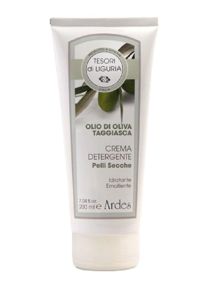 Крем молочко для очищения сухой кожи.  Crema detergente pelli Secche 200 мл.  Ardes