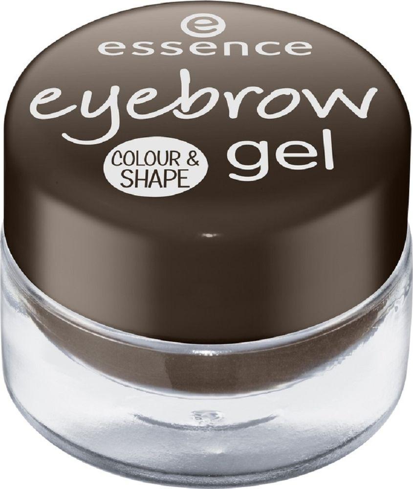 Гель для бровей Essence Eyebrow gel colour & shape, №01, 44 г essence гель для бровей eyebrow gel colour