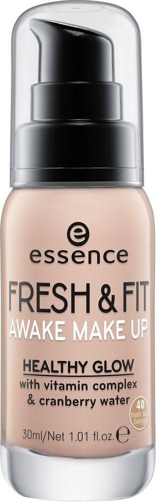 Тональный крем Essence Fresh & fit awake make-up, №40, 30 мл тональная основа essence stay all day 16h long lasting make up 30 цвет 30 soft sand variant hex name fad3b5