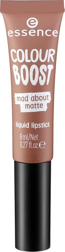 Губная помада Essence Colour Boost Mad About Matte, жидкая, №01, 8 мл
