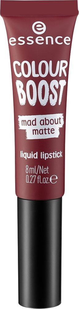 губная помада Essence Colour Boost Mad About Matte, жидкая, №09, 8 мл недорго, оригинальная цена
