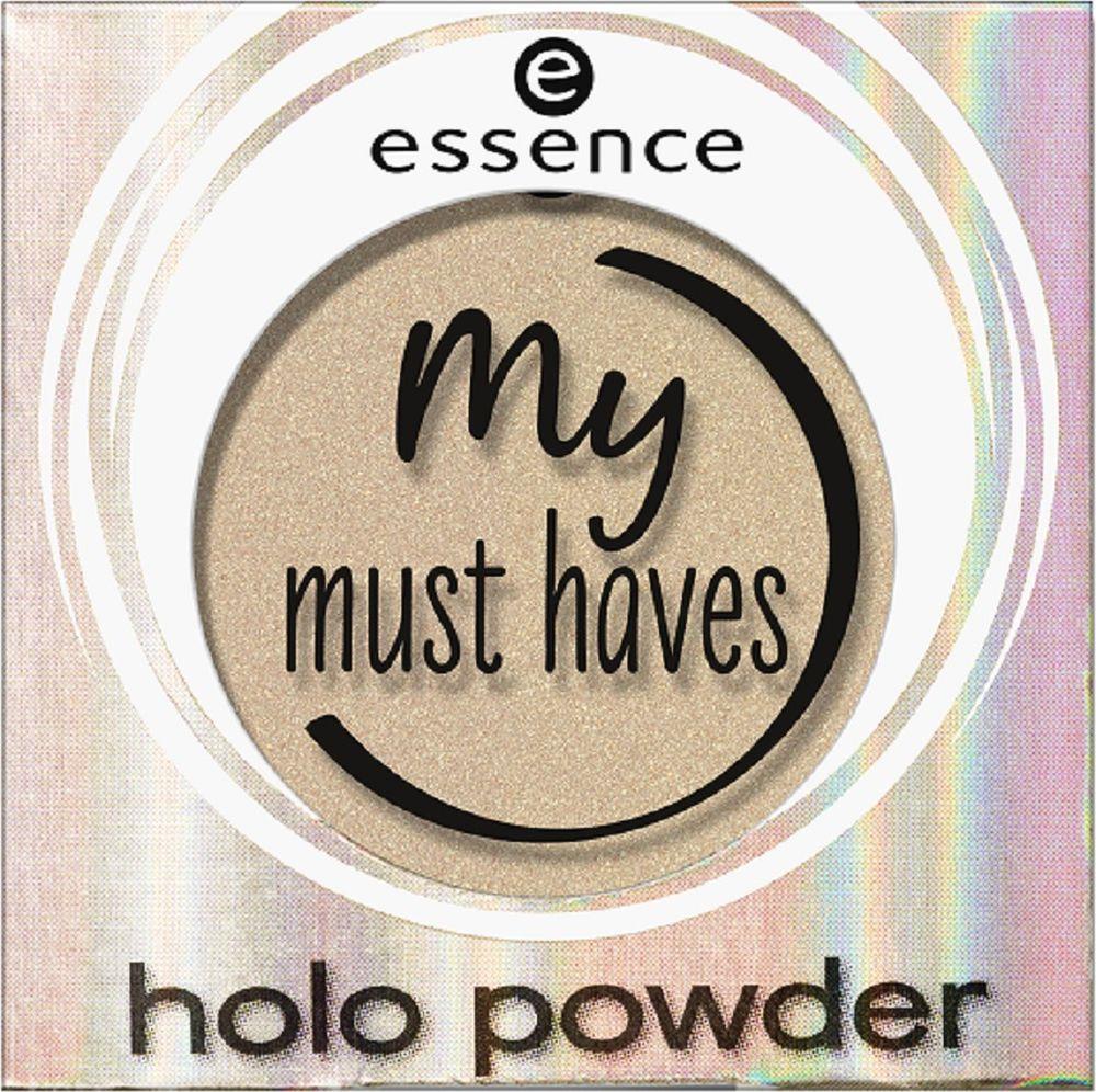 Пудра компактная Essence My Must haves holo powder, №01, 8 г