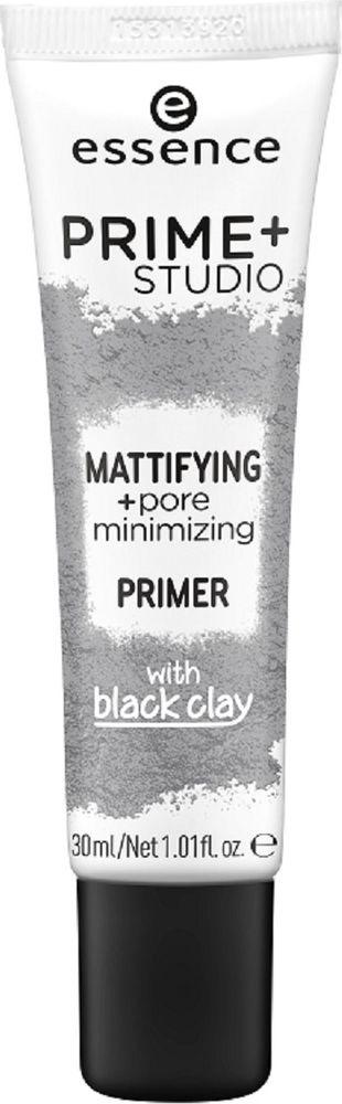 Праймер для лица Essence Prime+ studio mattifying +pore minimizing primer, 30 мл спрей праймер с кокосовой водой essence prime and studio hd hydra primer spray