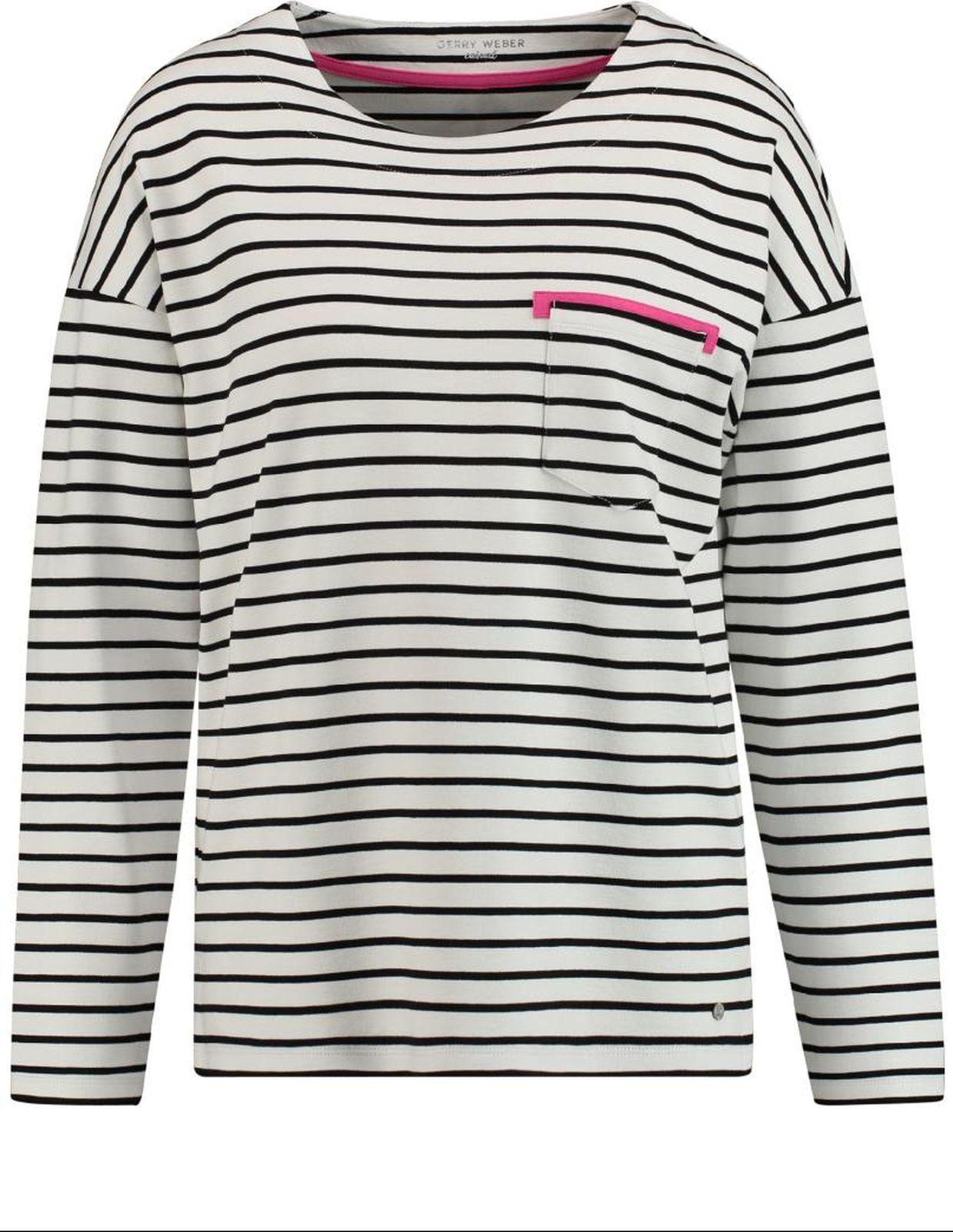 Пуловер женский Gerry Weber Casual, цвет: светло-бежевый. 2 191-870 055-44030_09013. Размер 40 (46)2 191-870 055-44030_09013