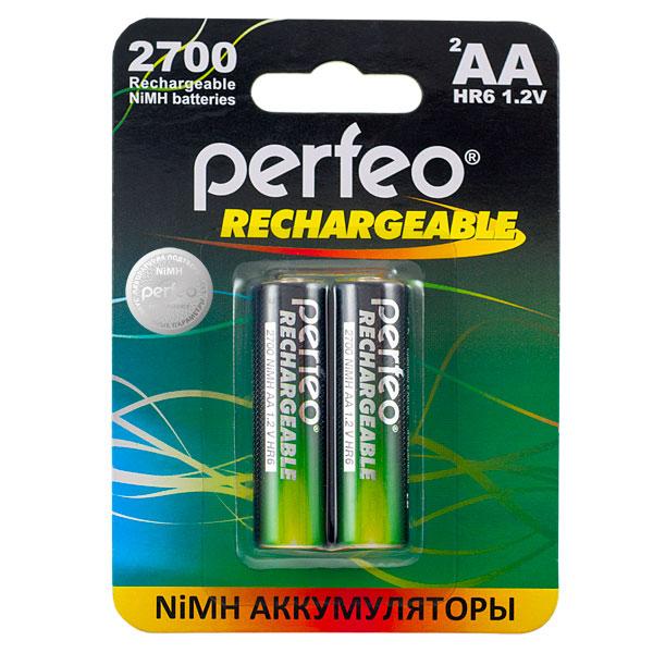 Аккумуляторная батарейка Perfeo Блистер 2 шт