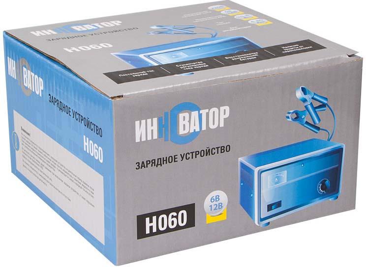 Зарядное устройство Инноватор, 8А (6/12В), серый зарядное устройство для автомобильных аккумуляторов houde 15000 mah hd18