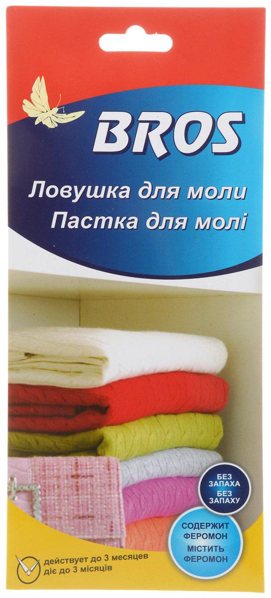 Ловушка-домик для одежной моли Bros, 725528, клеевая, с феромоном