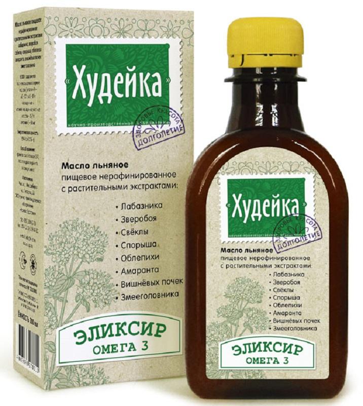 Масло Льняное Компас Здоровья Худейка, 0,2 л масло льняное компас здоровья сибирское 0 2 л