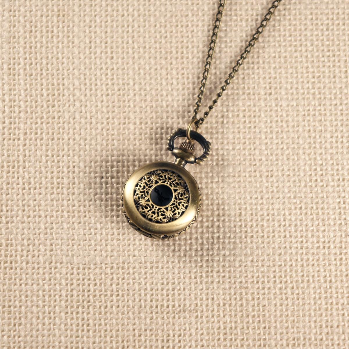 Карманные часы Mitya Veselkov ANTIK102, бронза полые бронзовый античный китайского зодиака тигр чувствительных ожерелье кулон карманные часы