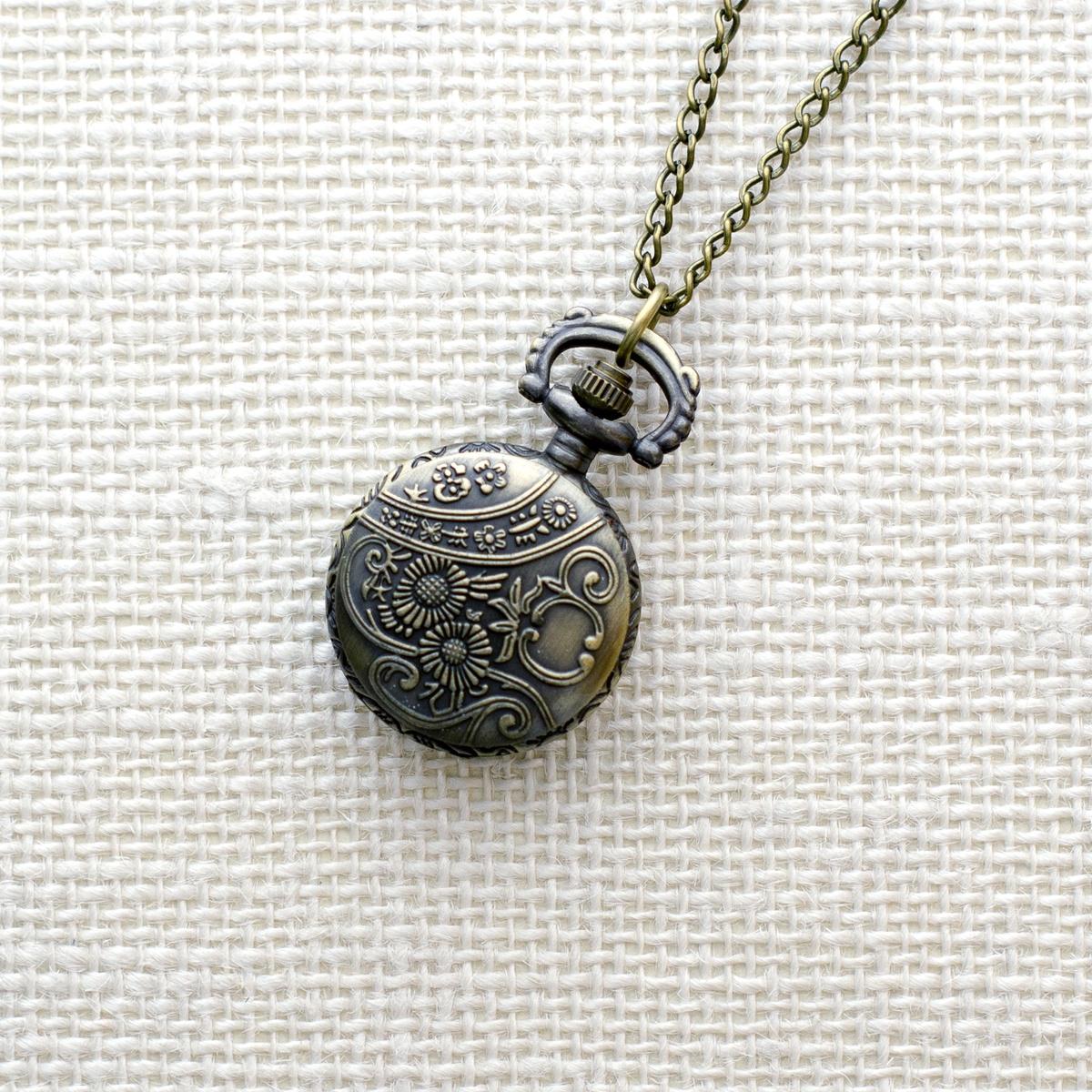 Карманные часы Mitya Veselkov ANTIK078, бронза полые бронзовый античный китайского зодиака тигр чувствительных ожерелье кулон карманные часы