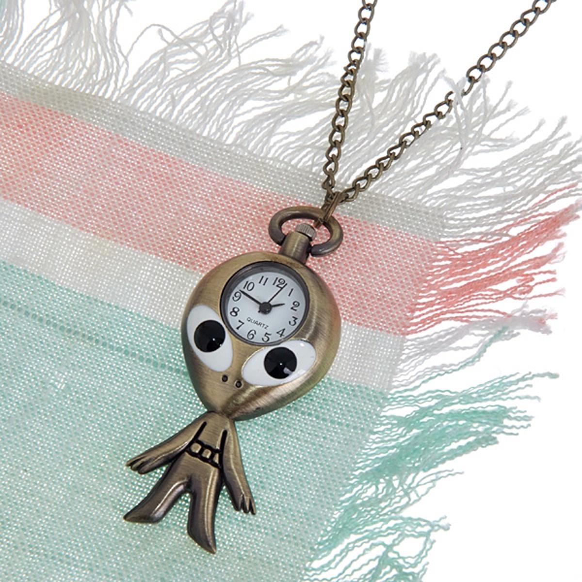 Карманные часы Mitya Veselkov ANTIK012, бронза полые бронзовый античный китайского зодиака тигр чувствительных ожерелье кулон карманные часы