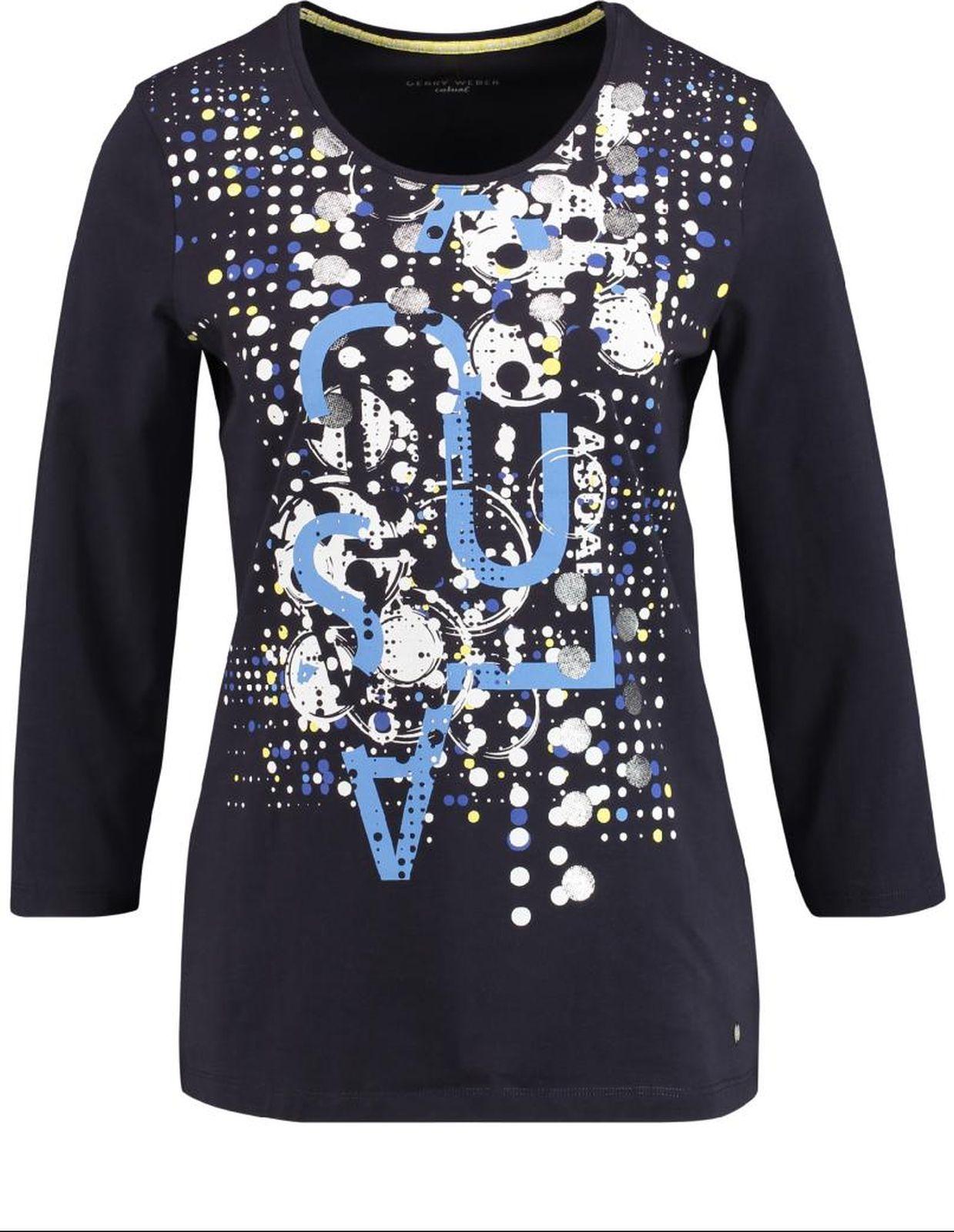 Пуловер женский Gerry Weber Casual, цвет: белый. 2 191-870 069-44022_99700. Размер 38 (44)2 191-870 069-44022_99700