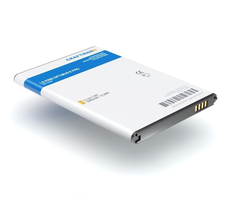 Аккумулятор для телефона Craftmann BL-48TH, BL-47TH для LG E988 Optimus G Pro, D685, D686, D838 G Pro 2, DS1201, E940, E977, F240K, F240S, G D686, L-04E аккумулятор для телефона craftmann bl 53yh для lg d855 g3 с увеличенной ёмкостью до 5900 mah и крышкой чёрного цвета