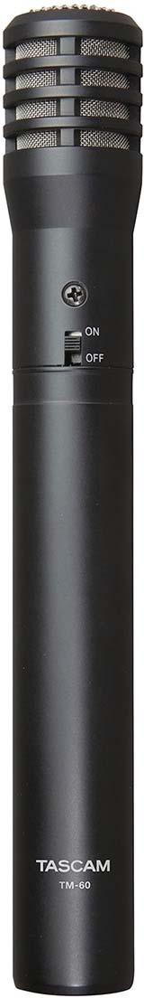 Микрофон Tascam TM-60, черный цены онлайн