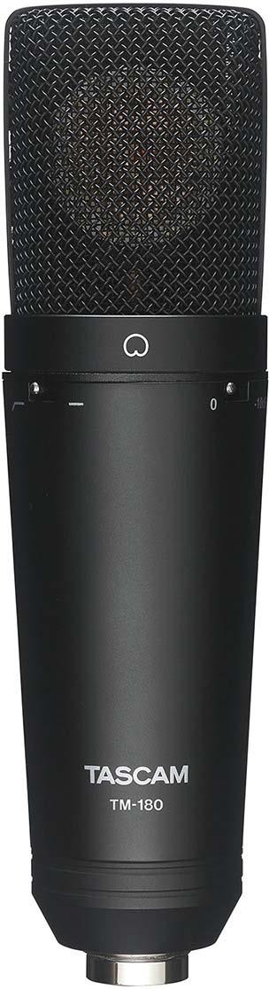 Микрофон Tascam TM-180, черный цены онлайн