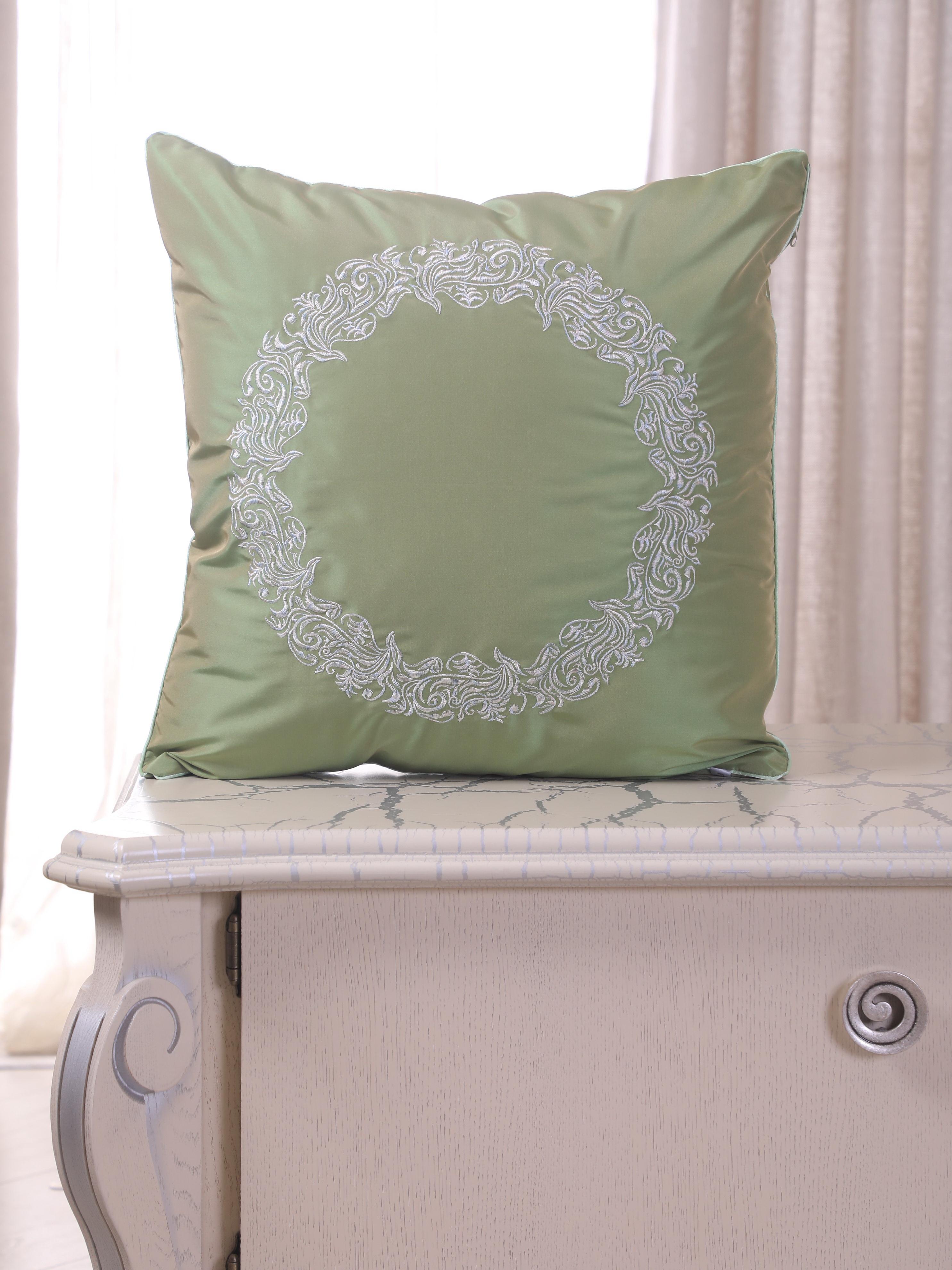 Подушка декоративная FLAUM HOME DECOR MINT, светло-зеленый недорго, оригинальная цена