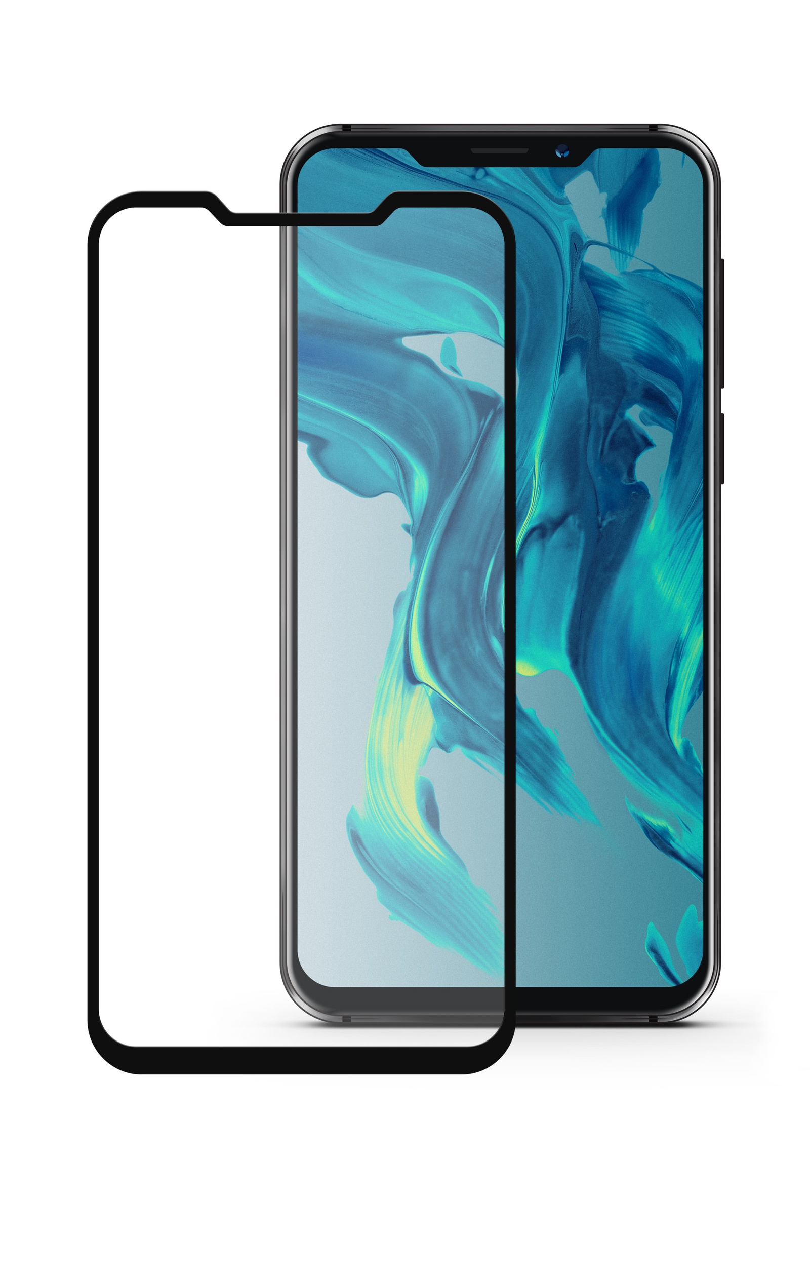 Защитное стекло Mobius для Meizu X8 3D Full Cover (Black) аксессуар защитное стекло mobius для honor 7c pro 3d full cover black 4232 208