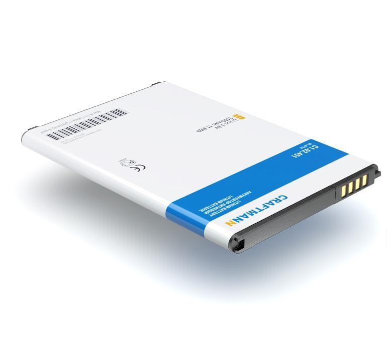 Аккумулятор для телефона Craftmann BL-47TH для LG D838 G Pro 2, G Pro Lite D685, D686, Optimus G Pro E940, E977, E988, F240K, F240S аккумулятор для телефона craftmann bl 53yh для lg d855 g3 с увеличенной ёмкостью до 5900 mah и крышкой чёрного цвета